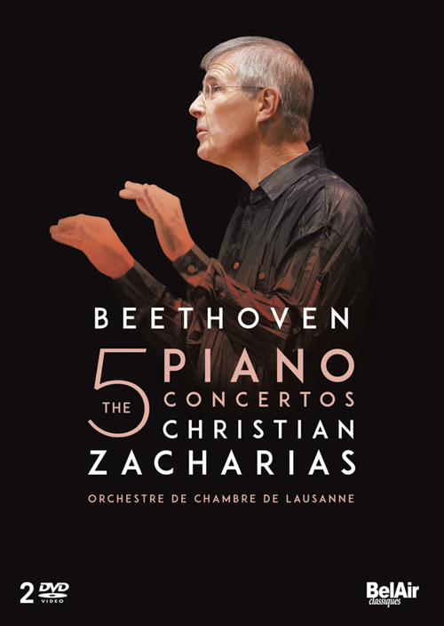 DVD BEETHOVEN Zacharias
